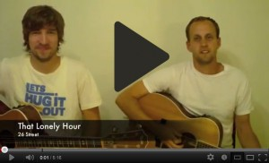 That Lonely Hour - 26 Street (Acoustic Version) - YouTube