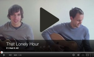 That Lonely Hour - If I Had It All (Dave Matthews Band Cover) - YouTube